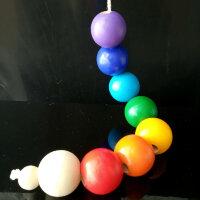 Шнуровка для детей Радужные шарики